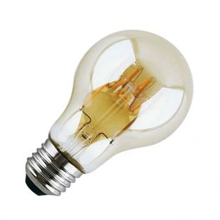 4W Very Warm White LED Decorative Filament GLS Bulb with Dusk to Dawn Sensor - Screw Cap