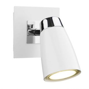 Dar Loft Single Spotlight - White