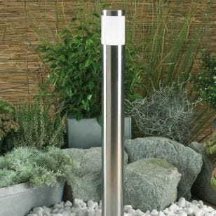 Techmar Plug and Play - Atila White LED Outdoor Post Light
