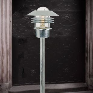 Nordlux Vejers Outdoor Post Light - Galvanised Steel