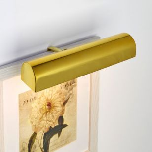 Ultimate LED Medium Battery Operated Picture Light - Polished Brass