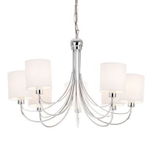 Endon Phantom 7 Light Chandelier - Polished Chrome