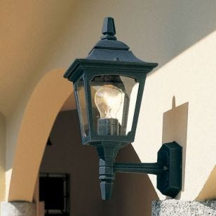 Elstead Chapel Mini Coach Lantern Outdoor Wall Light