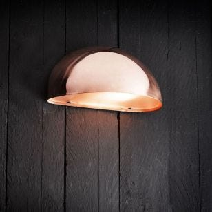 Nordlux Scorpius Outdoor Wall Light - Copper