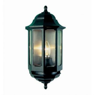 ASD Lighting Coach Half Lantern Outdoor Wall Light