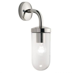 Astro Tressino S Hanging Lantern Wall Light - Polished Nickel