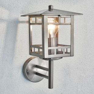 Elstead Kolne Outdoor Lantern Wall Light