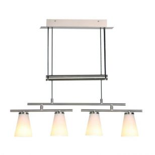 Dar Osbourne 4 Light Rise and Fall Ceiling Pendant
