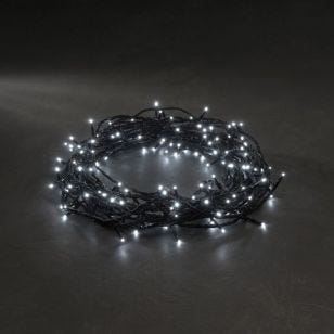 Konstsmide White Micro LED Multi-Function String Lights - 240 Lights
