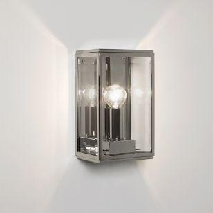 Astro Homefield 130 Outdoor Wall Light - Nickel