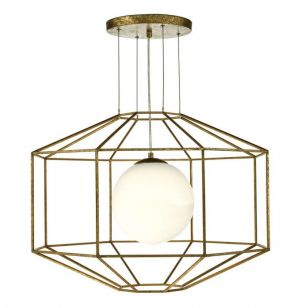 Dar Izmir Ceiling Pendant Light - Old Gold