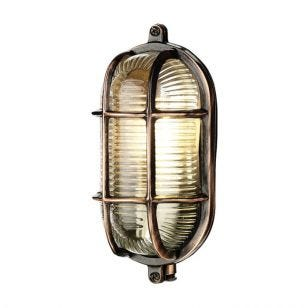 David Hunt Admiral Outdoor Oval Flush Light