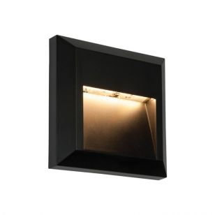 Endon Severus Warm White LED Outdoor Wall Light - Square