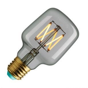 WattNott Wilbur 4.5W Warm White Dimmable LED Decorative Filament Clear Square Bulb - Screw Cap