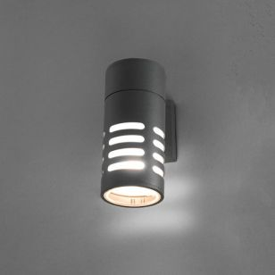 Edit Mekong Outdoor Wall Light - Dark Graphite