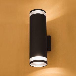 Edit Rock Outdoor Up & Down Wall Light - Dark Grey