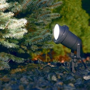 Edit Bush Garden Spotlight - Black