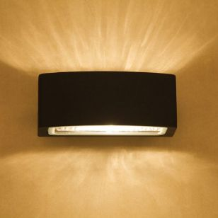 Edit Charlton Outdoor Up & Down Wall Light - Charcoal