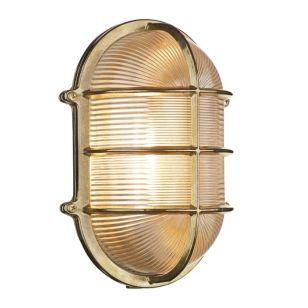 David Hunt Admiral Outdoor Large Oval Flush Light