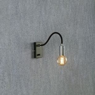 Raw Wall Light with Plug