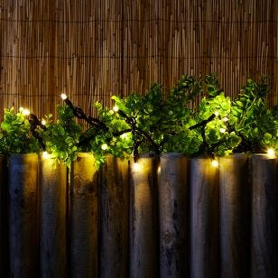 Connectable Warm White LED String Lights - 100 Lights