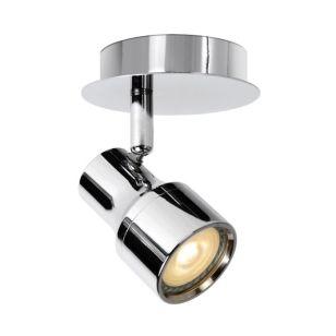 Lucide Sirene Single LED Spotlight Plate - Polished Chrome