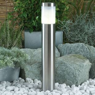 Techmar Plug and Play - Albus Warm White LED Outdoor Post Light Kit - 3 Lights