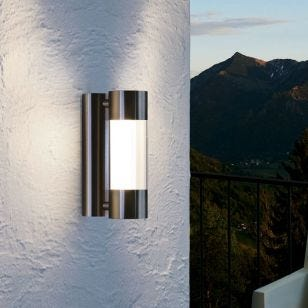 Eglo Robledo LED Outdoor Wall Light - Stainless Steel