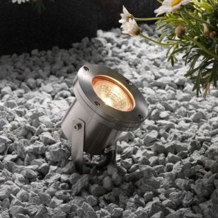 Techmar Plug and Play - Arigo LED Garden Spotlight - Stainless Steel