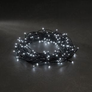 Konstsmide White Micro LED Multi-Function String Lights - 320 Lights