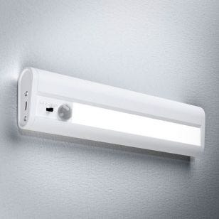 LEDVance Linear LED Battery Operated Under Cabinet Light with PIR Sensor - 200mm - White