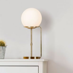 Deco Table Lamp - Antique Brass