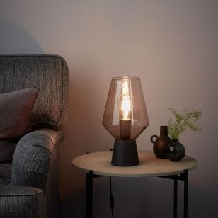 Retro Glass Table Lamp