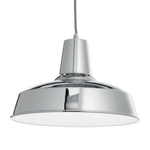 Moby Ceiling Pendant Light - Chrome