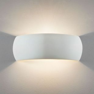 Astro Milo 400 Ceramic Up & Down Wall Light