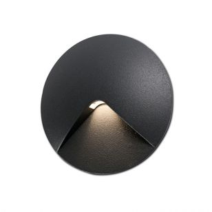 Faro Barcelona UVE LED Outdoor Wall Light - Dark Grey
