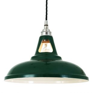 Mullan Vienna Ceiling Pendant Light - Racing Green