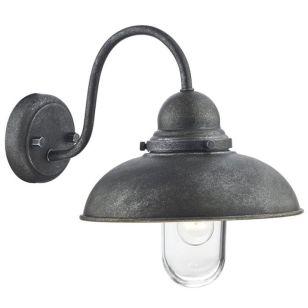 Dar Dynamo Outdoor Wall Light - Aged Iron