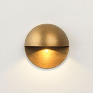 Astro Coastal Tivola LED Outdoor Wall Light - Antique Brass