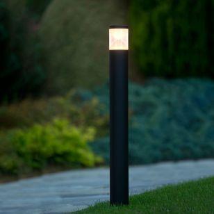 Lucide Teo LED Outdoor Bollard Light - Black