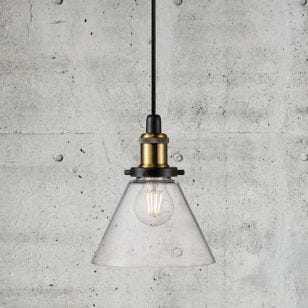 Nordlux Disa Glass Ceiling Pendant Light - Clear