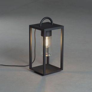 Konstsmide Bologna Outdoor Floor Lamp - Black