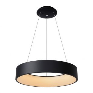 Lucide Talowe Halo LED Ceiling Pendant Light - Black
