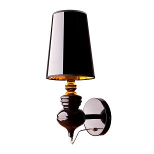 Edit Elegant Wall Light - Black