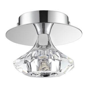 Edit Alli Flush Ceiling Light - Chrome
