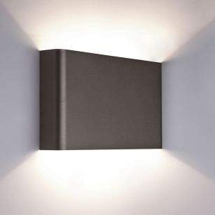 Edit Haga Up & Down Wall Light - Graphite