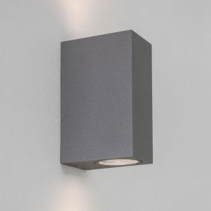 Astro Chios 150 Outdoor Up & Down Wall Light - Textured Grey