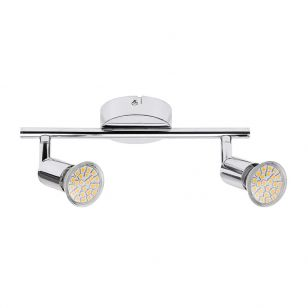 Edit Norton LED 2 Light Spotlight Bar - Chrome