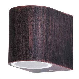 Edit Chile Outdoor Wall Light - Antique Brown