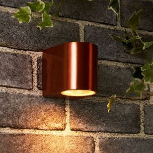 Edit Chile Outdoor Wall Light - Copper